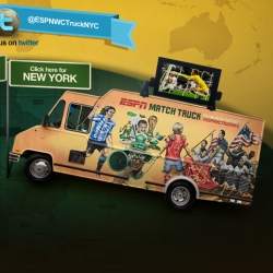 ESPN's Match Trucks are impressive! And roaming LA and NYC spreading the World Cup love via food truck!