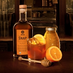 SNAP! A delicious gingersnappy spirit! From the Art In The Age of Mechanical Reproduction guys that brought us ROOT! Here's a recipe for Ginger Rye!