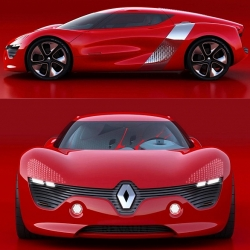 Renault has released details on its upcoming concept vehicle called DeZir. The DeZir (which sounds like 'desire' as it is pronounced in French) is meant to convey the new design language of the brand, according to Renault.