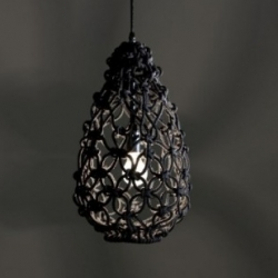 The 'Knotted Egg Lamp' by Australian designer Sarah Parkes of Smalltown.