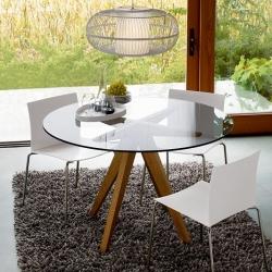 CB2 Teepee Dining Table by Mark Daniel