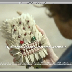 German phone ad campaign featuring Longoland's monsters. Agency : VCCP Directed by Stylwar.