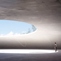 the new teshima art center by ryue nishizawa.