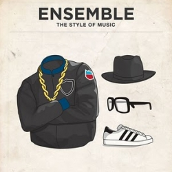 Ensemble, The Style of Music is a series of posters featuring Iconic Outfits from 20 Male Musicians. Designed by Glenn Michael from Moxy Creative House, and illustrated by James Alexander.