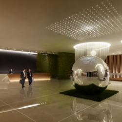An early glance at the Thompson Hotel: Seoul! Designed by Studio Gaia and scheduled to open early next year.