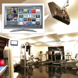 Fitness via Samsung TV Apps ~ an exploration of ideas and ways TV apps can turn into their own workout! Get creative!
