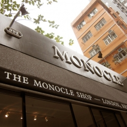A look at Monocle's new shop in Hong Kong