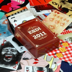 Esdi, Brazil & Latin America's first design school, (listed in Newsweek's Top 60 Design Schools in the world) launched its First Ever Collective Playing Card Deck, limited edition of 300!