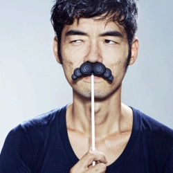 Fun Mr. Chocolate Moustaches by Spanish designer Diego Ramos at the Temporium Dezeen pop up shop!