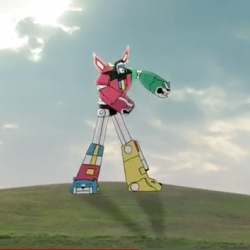 Voltron Dubstepping - an outtake/add on between Metlife's superbowl spot!