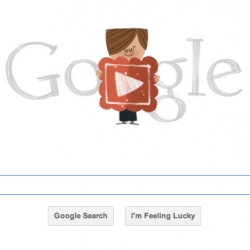 the sweetest little animated video on the Google search page to celebrate the year's sweetest day