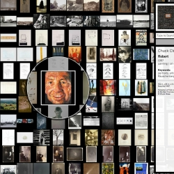SRMOMA ArtScope - this site is designed for wandering, for the chance discovery of artworks you might not have come across before. It features over 5000 objects from their collection, arranged in a continuous, map like grid.