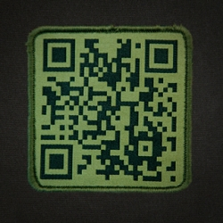 Triple Aught Design does a QR Code Patch! Next time you're all TAD Geared out and someone wants to know more, they can just scan the patch!