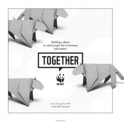 The world's most amazing and endangered animals feature in the WWF's interactive iPad storybook. Designed by AKQA, with animal portraits by Morten Koldby, music by Copilot, and origami by Anita Barbour and Joseph Wu.