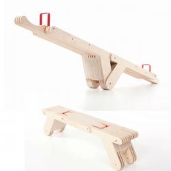 Seesaw Seat prototype by Dirk Ploos van Amstel.