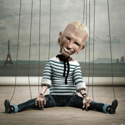 Cool ad by Mango Fashion Awards. The Jean Paul Gaultier puppet kills me. :D