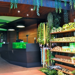 The Serpentarium - snakes in a new skin. New entrance and shop of the reptile zoo by Mojo design.