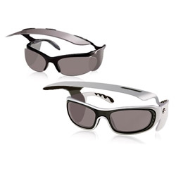 Shade Blades - The ultimate in designer UV protecting eye wear complete with visor and retracting lenses.