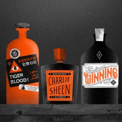 In case you're in need of some Winning, Tiger Blood or Head explodin', check out this amazing Charlie Sheen desktop by Skinny Ships, Young Jerks and The Big Animals.