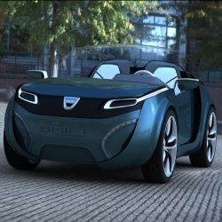 The  Compact, sleek yet aggressive Shift concept is a two-seater electric vehicle designed for the crowded city of Bucharest and is aimed for the younger generation of drivers.
