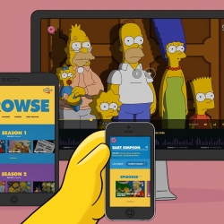 "Huge partnered with FX Networks to design the new ""Simpsons World"" digital experience across 8 different platforms, bringing all 552 episodes online for the first time."