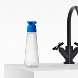 Sismo, a French design and innovation studio, creates the new Eau de Paris 'tap water bottle'.