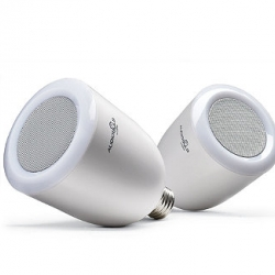 Simply replace any standard light bulb with our innovative AudioBulb Wireless Speaker Light Bulbs to add rich, full-range audio and bright light to any room—no installation required.