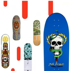 'Skate It or Hang It?! The Evolution of Skateboard Art' will be on exhibit at the Museum of Design Atlanta (MODA) from Jun16 - Sept16.