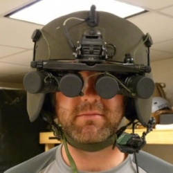 Darpa, the Pentagon research branch is ready to shield US soldiers with advanced 360-degree vision technology. The helmet-like gadget scans objects a kilometer away.