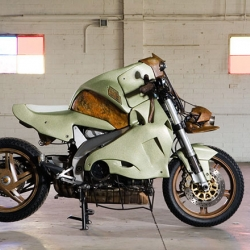 Now along comes Mark Dugally with Project Somma 2010, a bike that completely redefines the term.