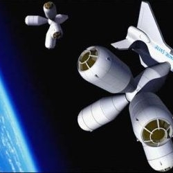 Galactic Suite: The world's first Space Hotel set to open within the next three years. Great views, lousy food.