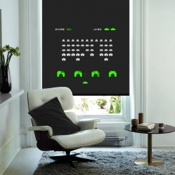 Get your game on without the glare using these retro gaming blinds from English Blinds. Defend planet earth from all those pesky aliens without worrying about daylight again!