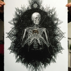 London-based artist, Dan Hillier - known for reworking vintage images to create new, digital collage work - releases a beautiful new print called 'Spark'