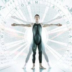 Fastskin LZR Racer. With Nasa material, this new Speedo swimsuit helped stabilishing 17 world records in less then two months. From outter space to the swimpool!