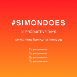 Follow Simon Ellison a NYC based designer as he creates 30 products in 30 days. #SIMONDOES is a experiment pushing the limits of a designer's creativity for 1 month.