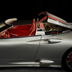 Spyker continues to up the ante with their latest take on an open air sports car. The convertible version of their all new, second-generation C8 Aileron debuted earlier this month at the Pebble Beach Concours d'Elegance.