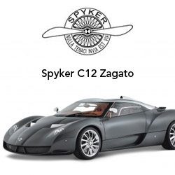 Meet the new Dutch Designed Spyker C12 Zagato, 12 cylinder of raw dutch power and  design.