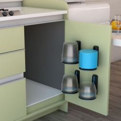 Designed with space saving and versatility in mind, Stackerware is a clutter-free, space saving solution, and a great new way to organize and store containers.