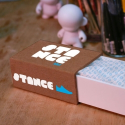 Your favorite toys + your favorite kicks. Check out Stance, a new customizable vinyl toy project.