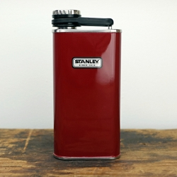 The classic Stanley Flask now available in red.