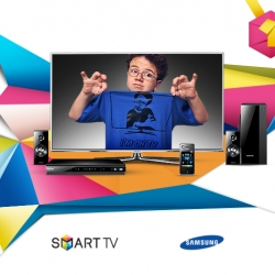Samsung SMART TV Stare Battle. Players in this interactive game are challenged to stare at the new SMART TV for as long as possible without blinking. During the game, players take on internet sensation Keenan Cahill.