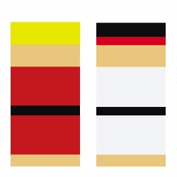 Bauhaus/De Stijl inspired Street Fighter Abstract Edition illustrations by infinitecontinues.