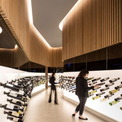 São Paulo is the new home to a great new wine and champagne bar called Mistral designed by  Studio Arthur Casas.