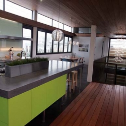 This is the ultra stylish, ultra green Sunset Idea House for 2007 in San Francisco.  Pictures all in one place.