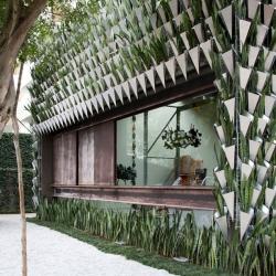 The Campana Brothers designed this Sao Paulo design shop, Firma Casa, to ward off evil spirits.