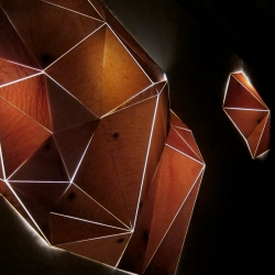 Synecdoche is an interactive light installation by Casey Watson.