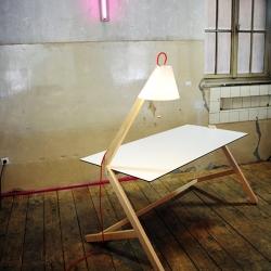 Florian KALLUS + Lamp + Table = Tamp & Lable