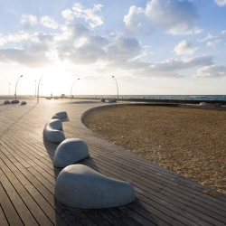Tel Aviv Port Public Spaces Regeneration Project by Mayslits Kassif Architects wins the prestigious Rosa Barba European Landscape Prize at the 6th biennial of landscape architecture in Barcelona.