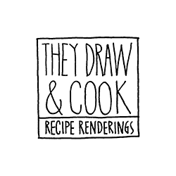 THEY DRAW AND COOK - Daily postings of illustrated recipes by artists from around the world.