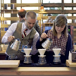 TED may be about the coffee as much as the talks. This year the TED conferences will include 7 coffee bars run by international all-star baristas, including World Barista Champions.